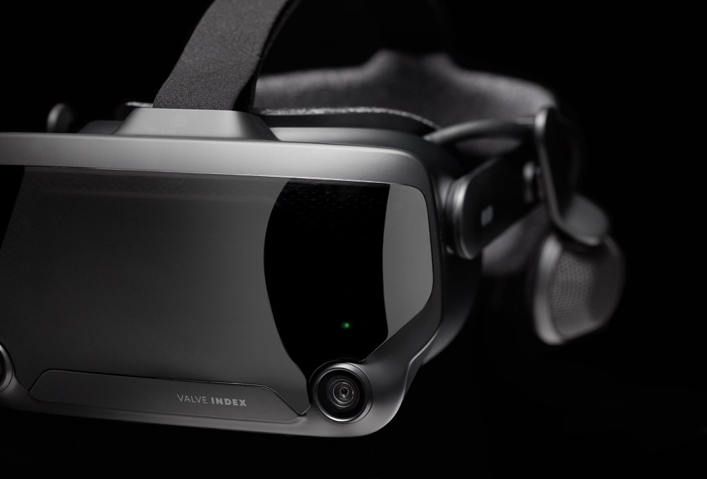 Valve Index HMD Close VR Headset Camera