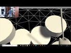 Playing Drums in Virtual Reality