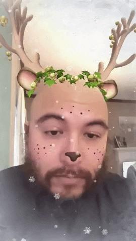 Snapchat, Facebook, Google, 8th Wall, & Immersion Bring Holiday Cheer via Augmented Reality