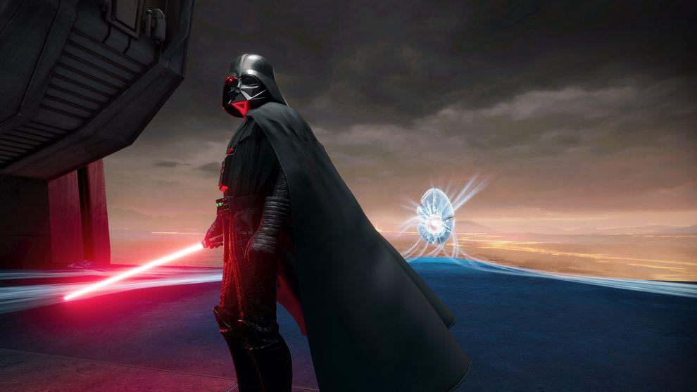 Vader Immortal art