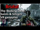 The Walking Dead Saints & Sinners Oculus Quest VR Gameplay (with lofi music & commentary VR cam)