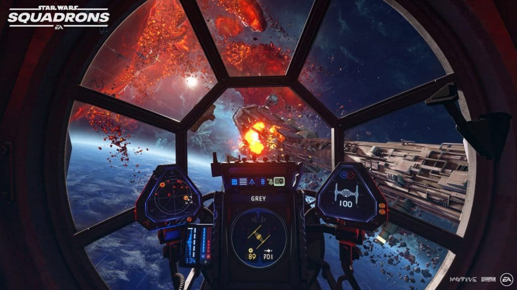 star wars squadrons tie fighter cockpit