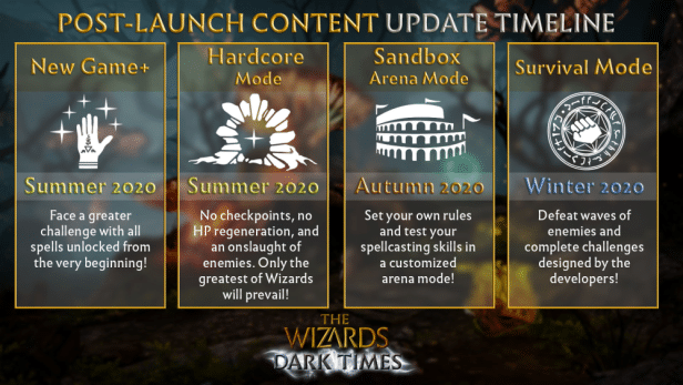 the wizards dark times post launch plan