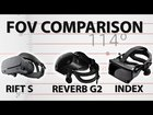 MRTV FOV test across many headsets (including G2) with a 64mm IPD