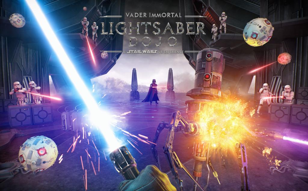 Vader Immortal Lightsaber Dojo